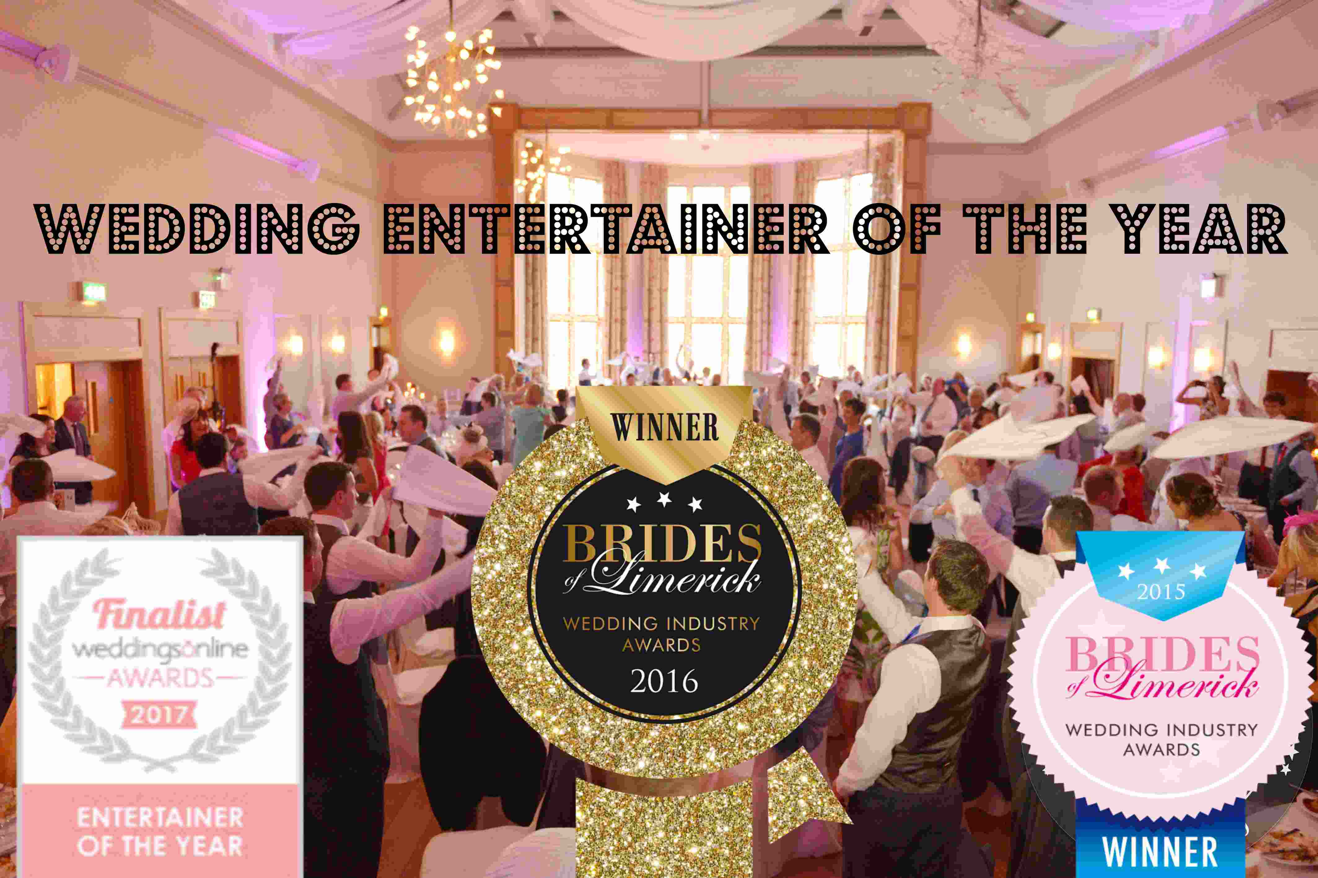 Banners of The Singing Chef : Wedding & Corporate Entertainer